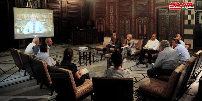 Expertos sirios y rusos debaten perspectivas de cooperación para proteger el patrimonio cultural sirio