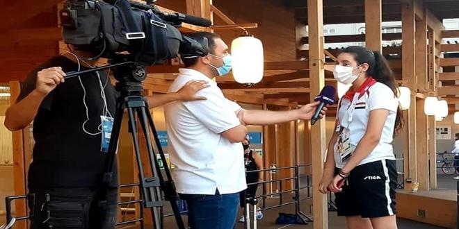 Tenista de mesa siria se convierte en ícono de Juegos Olímpicos de Tokio 2021