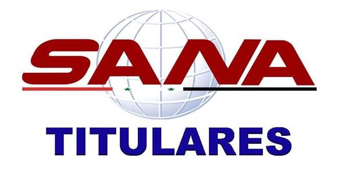Titulares de la agencia SANA, 29 de julio 2021