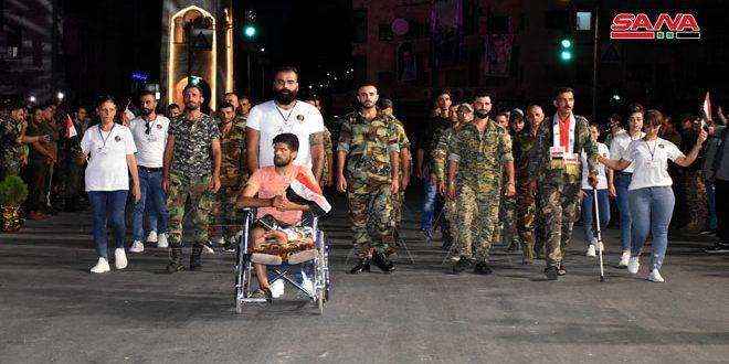 Carnaval en Hama con motivo del Día del Ejército (+fotos)