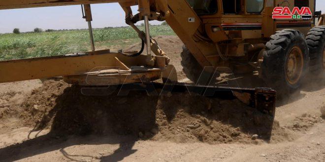 Deir Ezzor rehabilita sus carreteras en zonas liberadas del terrorismo (+fotos)