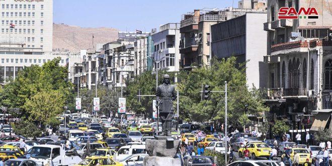 En fotos, ciudad de Damasco, hoy 22 de septiembre