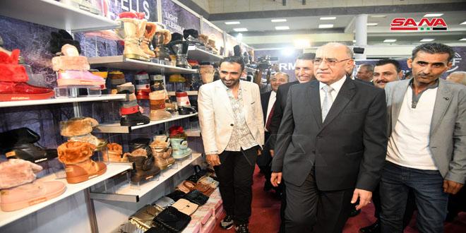Más de 100 empresas sirias exhiben sus productos de cuero en SILA-2021