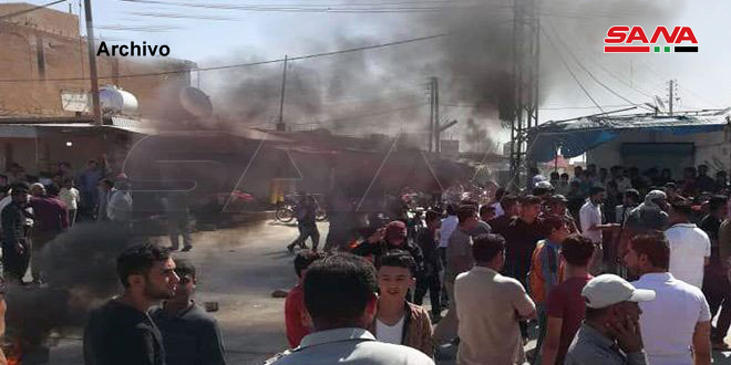 Nueva jornada de redadas y secuestros por la milicia separatista FDS en Deir Ezzor