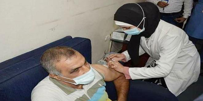 13 mil 500 dosis anti Covid-19 para el personal docente en Alepo