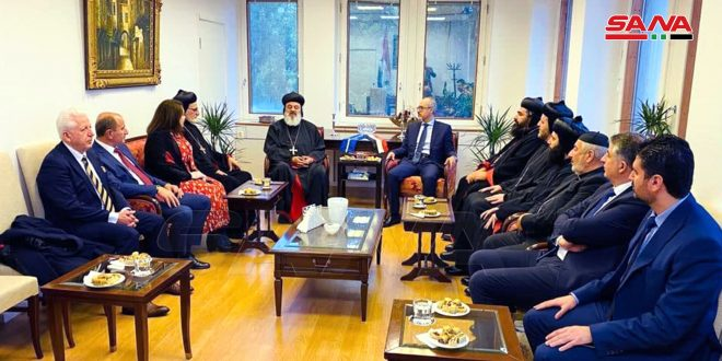 Patriarca Efrén II: los países occidentales deben levantar las injustas sanciones impuestas al pueblo sirio