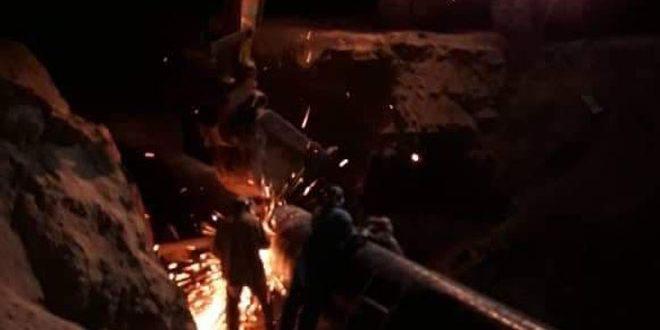Concluyen reparación del Gasoducto Árabe que fue blanco de un atentado terrorista