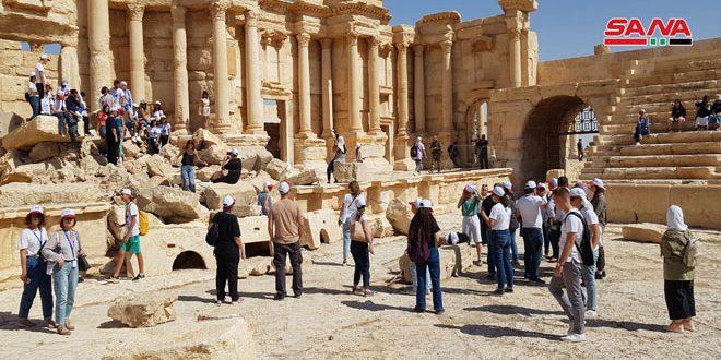 Palmira vuelve a la vida (video)