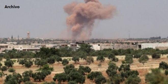 Turquía y sus mercenarios bombardean de nuevo a Tal Tamr, en provincia siria de Hasakeh