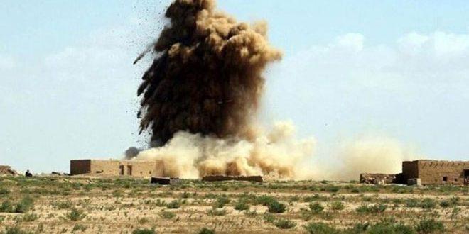 Sede terrorista del Daesh es destruida por el ejército iraquí en Kirkuk/Irak