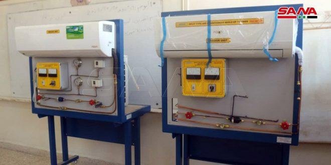 Equipos y laboratorios para institutos industriales y escuelas secundarias