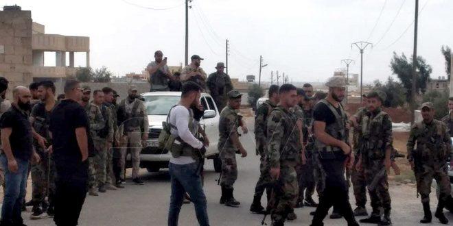 Ejército se despliega en al-Jizah tras rendición de armados