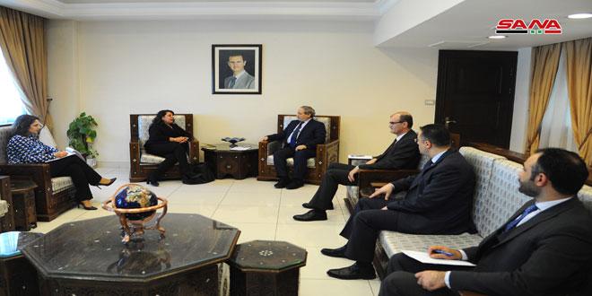 دکتر فیصل المقداد: تدوین یک برنامه جامع برای رسیدگی به اثرات ناشی از جنگ تروریستی علیه سوریه