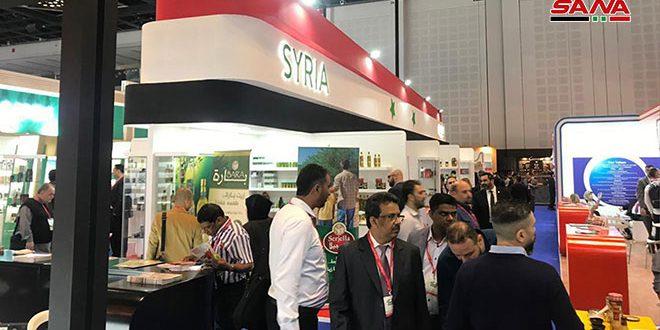 حضور 21 شرکت سوری در نمایشگاه گلفود دبی