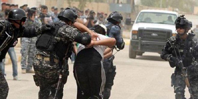 دستگیری یک تروریست از گروهک داعش توسط نیروهای عراقی