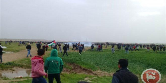 راهپیمایی های بازگشت و شکست محاصره: مجروحیت ده ها نفر فلسطینی به ضرب گلوله نظامیان اشغالگر