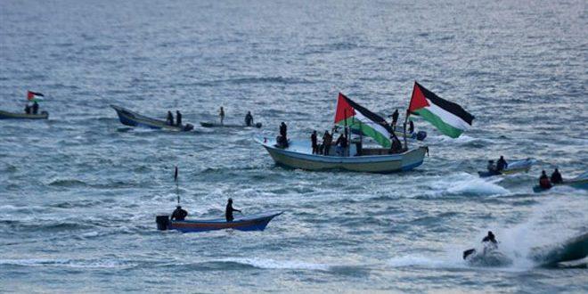 چند فلسطینی به ضرب گلوله صهیونیست ها در غزه زخمی شدند