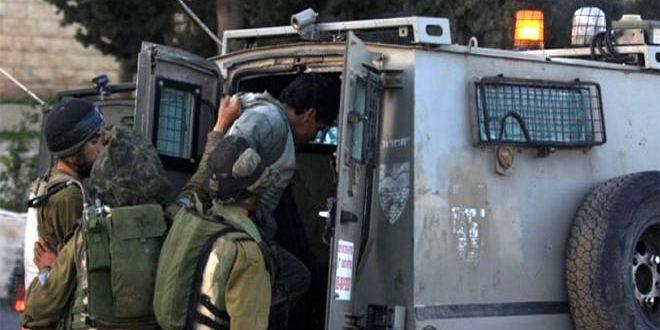 دستگیری11فلسطینی در کرانه باختری توسط نیروهای اشغالگر اسرائیل
