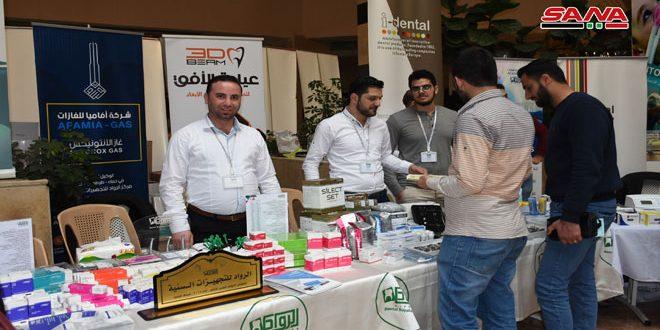 بازدید بیش از 5000 نفر از نمایشگاه تخصصی صنعت داروسازی و تجهیزات پزشکی در حماه
