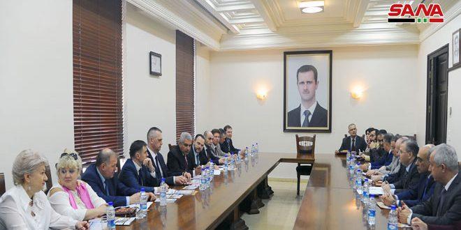 مذاکرات علمی بین دانشگاه دمشق ودانشگاه های بلاروس