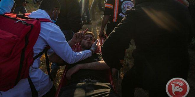 نوار غزه: شهادت دو فلسطینی و زخمی شدن ده ها دیگر بر اثر حملات اشغالگر به راهپیمایی های بازگشت