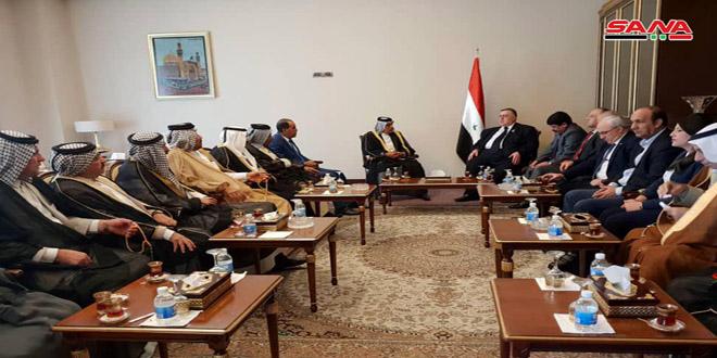 تقدیر رئیس پارلمان کشورمان از موضع کشاورزان عراق در حمایت از سوریه