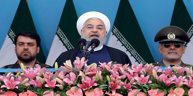 روحانی: نيروهای مسلح مان قویتر از همیشه است