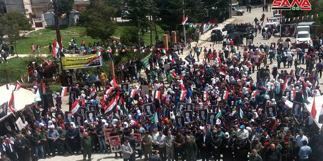 ادامه تجمعهای اعتراضی سوریها در محکومیت تصمیم ترامپ