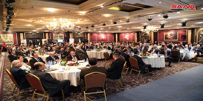 توصیه اجلاس تبادل اقتصادی عرب برای شکستن اقدامات اقتصادی قهرآمیز تحمیل شده علیه ملت سوریه