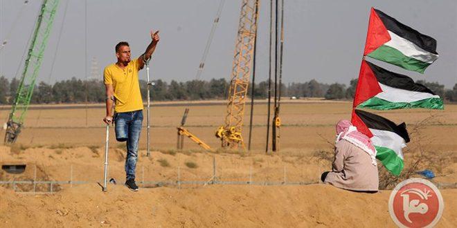 آمادگی فلسطینیان برای برگزاری پنجاه و پنجمین تظاهرات بزرگ بازگشت