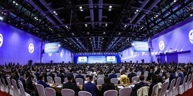 مشاركت سوريه در دومین اجلاس جهانی «یک کمربند، یک جاده» در پکن