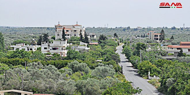 روستای جناتا در ریف لاذقیه مقصد کسانی است که به دنبال آرامش هستند