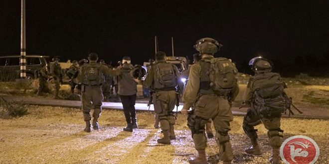 بازداشت 9 فلسطینی در کرانه باختری توسط رژیم اشغالگر
