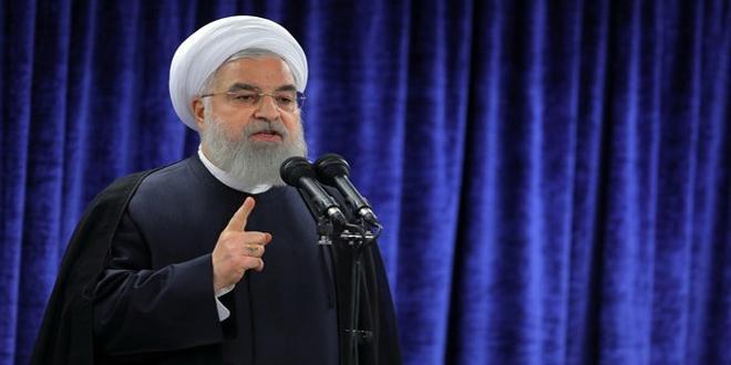 روحانی: وحدت فکر و اعتماد به یکدیگر عامل پیروزی در جنگ اقتصادی آمریکا علیه ایران است