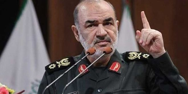 سردار سلامی: سوریه ثابت قدم در مقابله با توطئه های علیه آن است