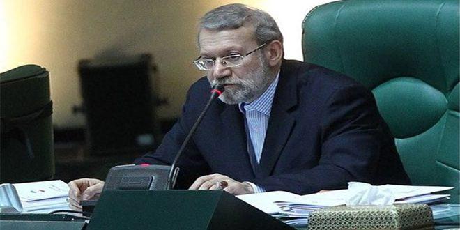 لاریجانی: حمله به نفتکشها در دریای عمان مکمل تحریمهای اقتصادی است