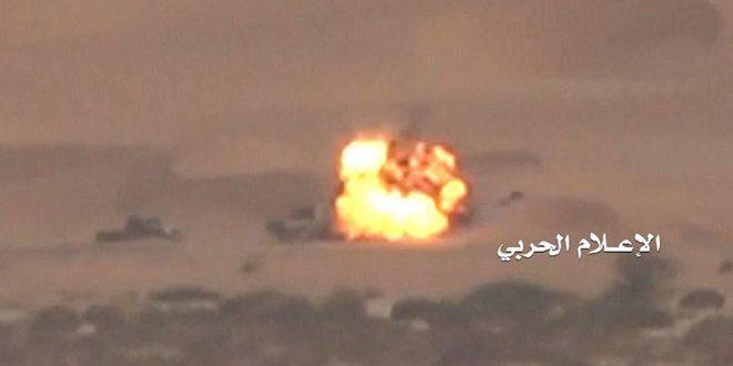 هلاکت تعدادی از مزدوران متجاوزان سعودی در استان جوف در یمن