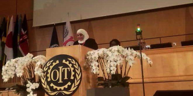 قادري در کنفرانس بین المللی کار: کارگران جولان اشغالی سوریه با تروریسم سیستماتیک مواجه هستند