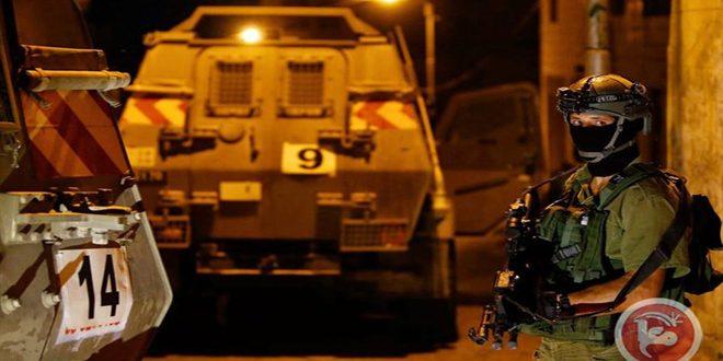 بازداشت 12 فلسطینی در کرانه باختری توسط رژیم اشغالگر