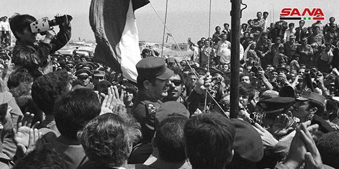 26 ژوئن..احیای سالگرد آزادی قنیطره …. جولان اشغالی حتما باز می گردد