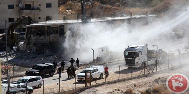 قدس اشغالی: دستگیری 10 نفر فلسطینی در عیسویه