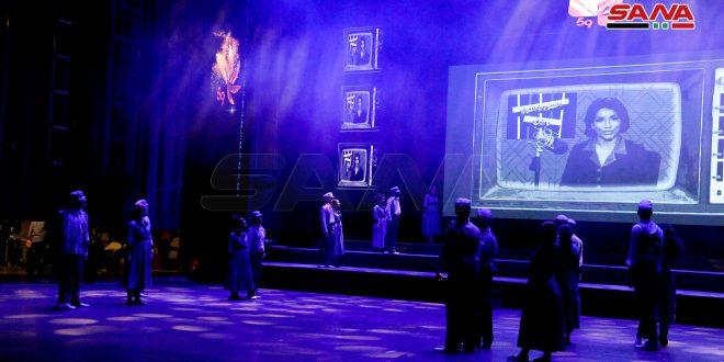 وزارت اطلاع رسانی جشن پنجاه و نهمين سالروز تاسیس تلویزیون را برگزار کرد