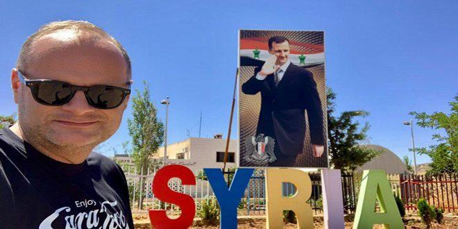 یک جهانگرد اسلواکی: دمشق قدیمترین شهر پرجمعیت است