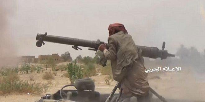 کشته و زخمی شدن تعدادی از مزدوران رژیم عربستان سعودی در عملیات نیروهای یمنی در الجوف