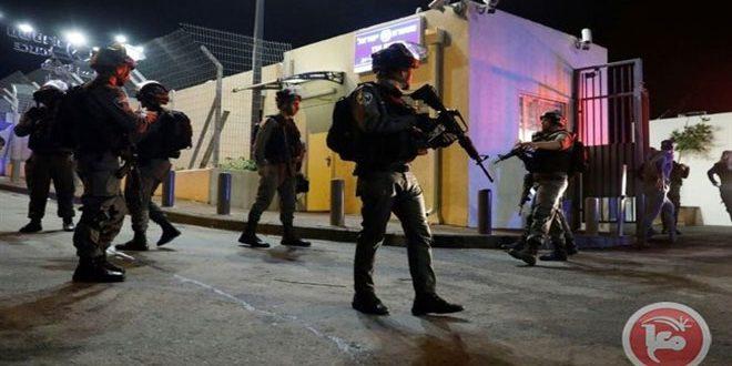 بازداشت 7 فلسطینی در کرانه باختری توسط رژیم اشغالگر