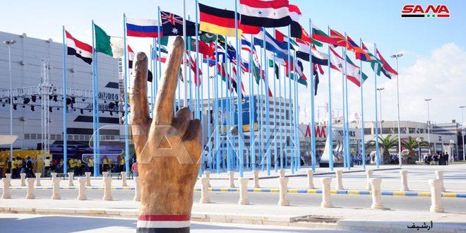 حضور 38 کشور با فضای بالغ بر 100 متر مربع در نمایشگاه بین المللی دمشق