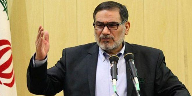 شمخانی : ایران تسلیم فشارهای آمریکا نمی شود