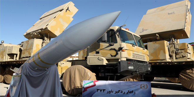 ایران از سامانه پدافند هوایی برد بلند «باور ۳۷۳» رونمایی کرد