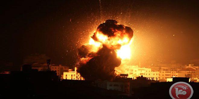 حمله مجدد جنگنده های رژیم اشغالگر به نوار غزه