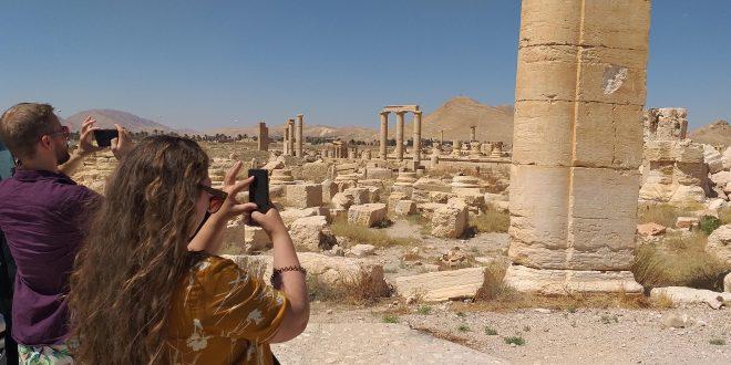 گروه گردشگری خارجی: تدمر یک میراث تاریخی انسانی باقی خواهد ماند